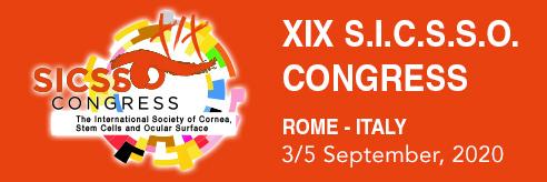 S.I.C.S.S.O. 2020 – Rome, Italy